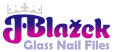 Blazek Glass Nail Files Logo