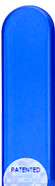 Image of Coloured Sea Blue glass nail file