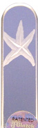 Image of Engraved Starfish glass nail file