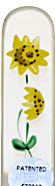 Image of Hand Painted Sunflower glass nail file