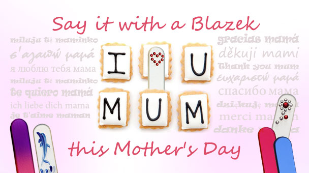Say I love you Mum with a Blazek this Mother's day and get 20% OFF